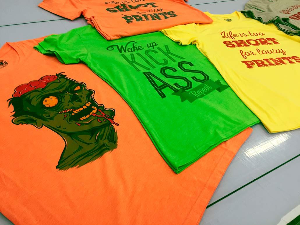 sublimacion camisetas colores