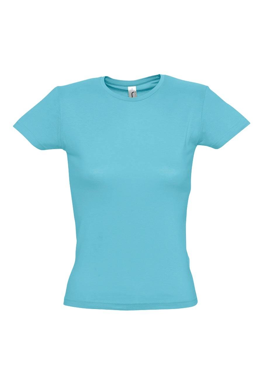 Camiseta basica manga corta mujer miss