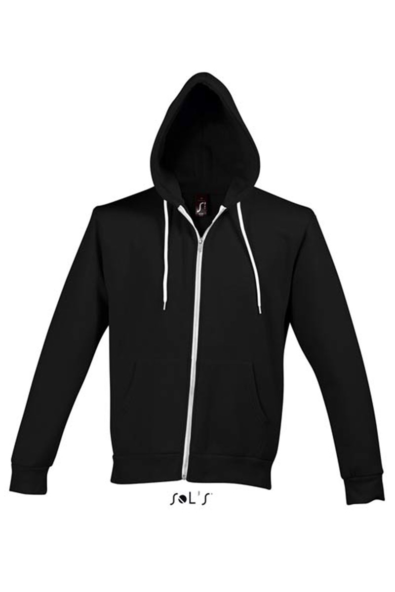 sudadera capucha negra