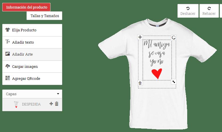 camisetas despedida de soltera faq
