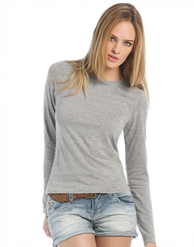 Camiseta manga larga mujer B and C Women-Only LS