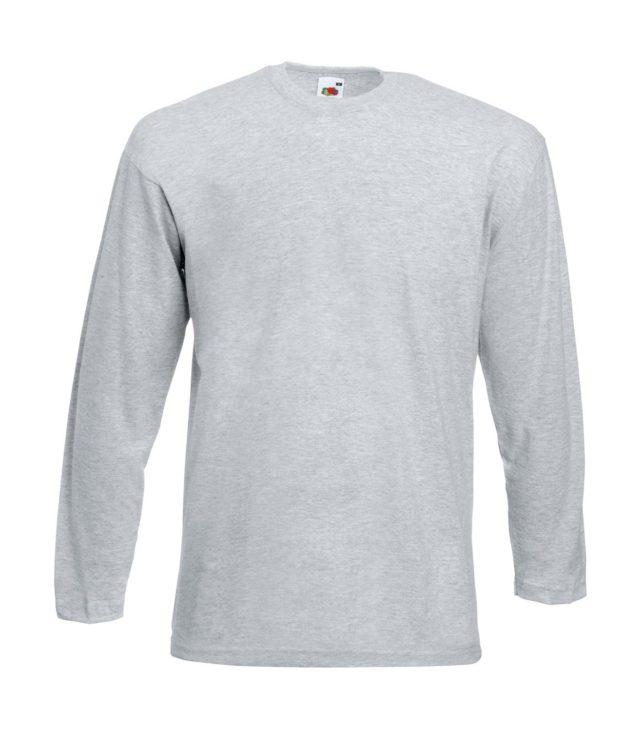 Camiseta manga larga Fruit of the loom