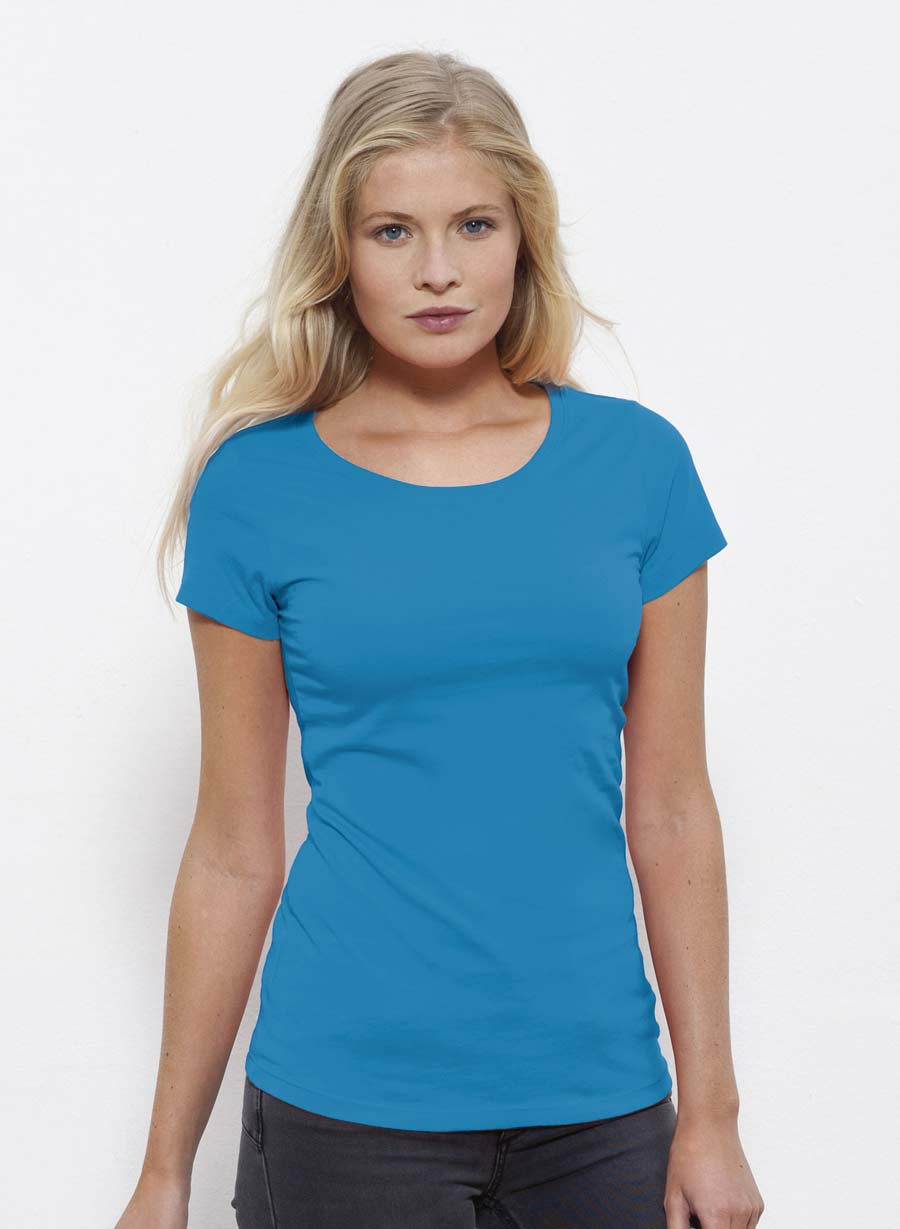 camiseta con escote redondo stanley stella wants. Black Bedroom Furniture Sets. Home Design Ideas