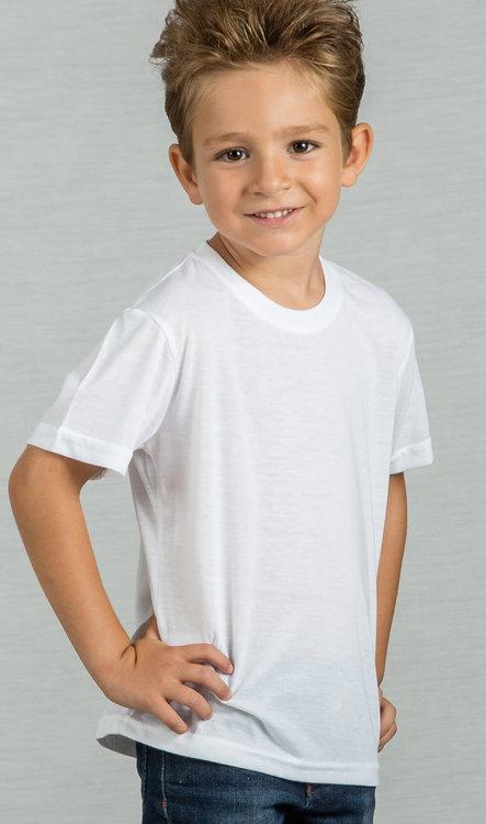 camiseta blanca niño