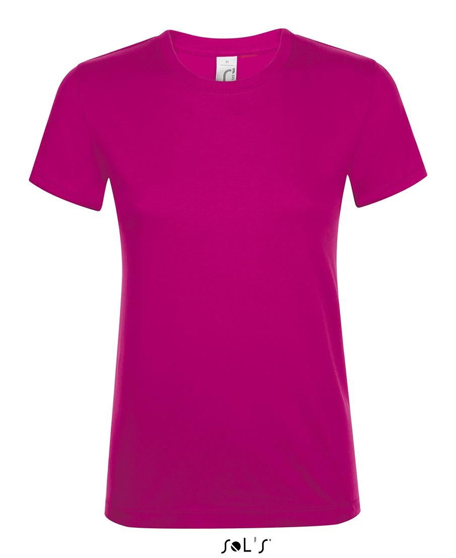 Camiseta de mujer cuello redondo REGENT WOMEN