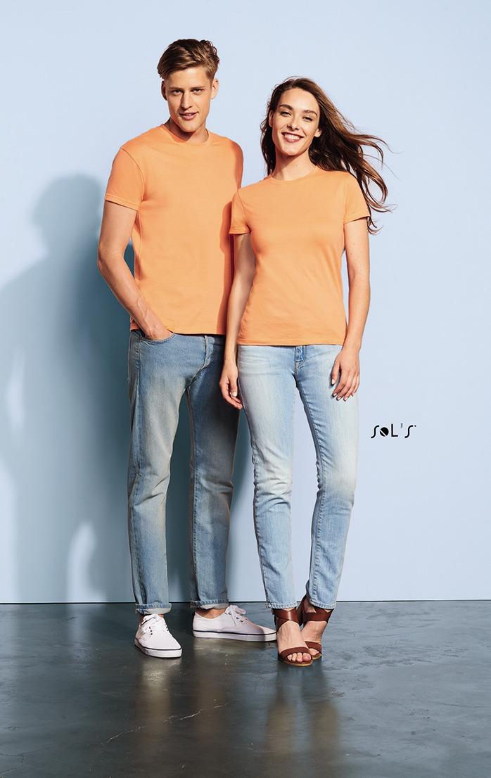 Camiseta de mujer y hombre cuello redondo REGENT WOMEN