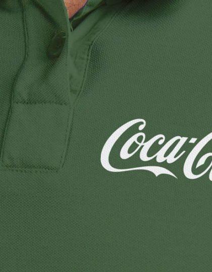 camisa coca cola