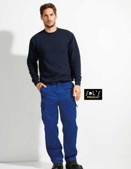 Pantalón de Trabajo Hombre SOLS ACTIVE PRO