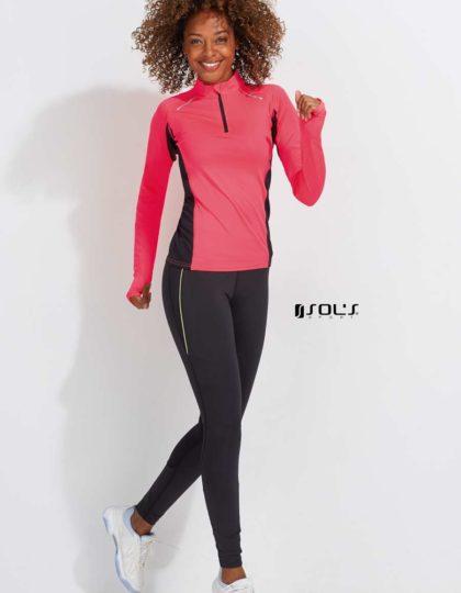 camisa tecnica rosa