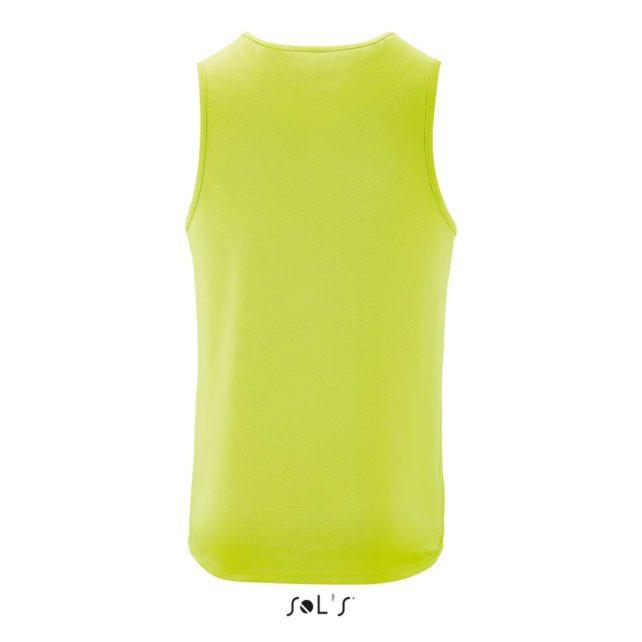 ropa tecnica deporte verde
