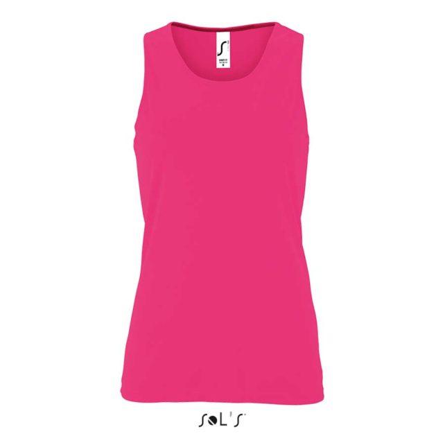 ropa tecnica deporte rosa