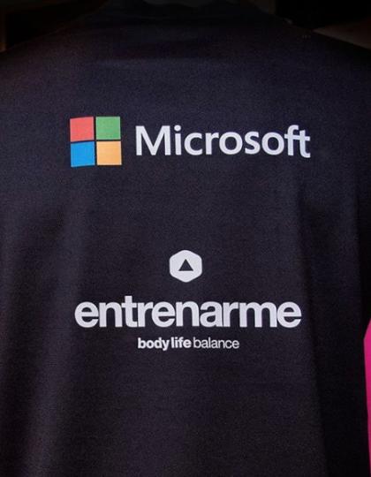 camiseta microsoft