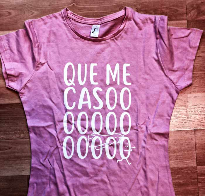 despedida camisetas