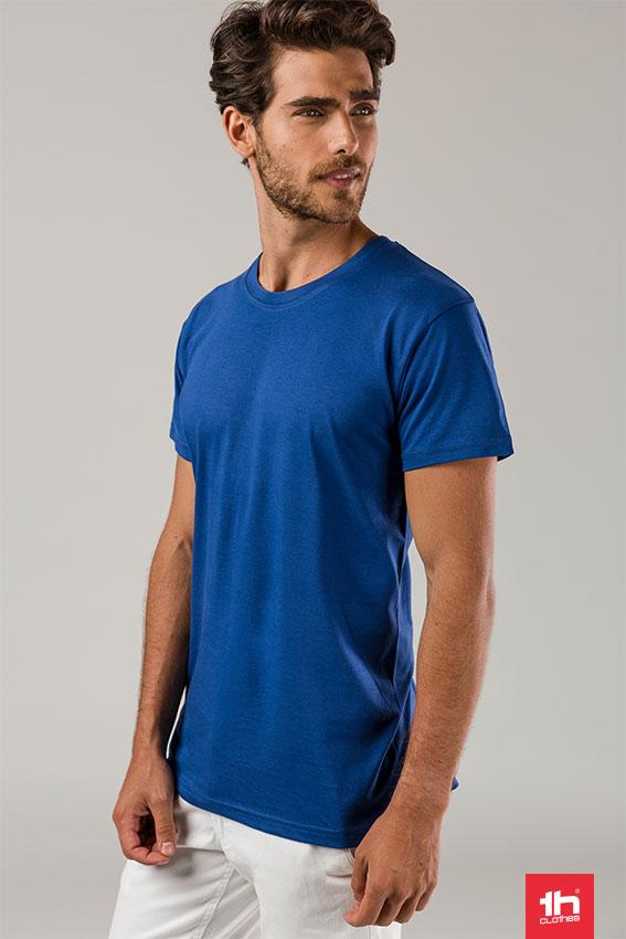 camiseta hombre azul