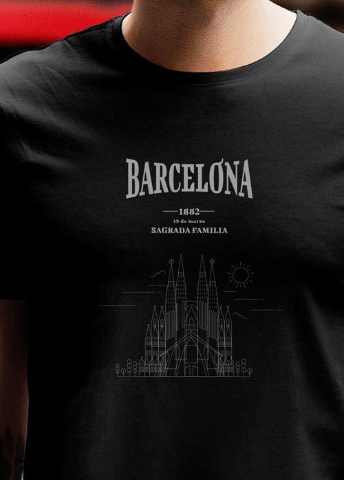 Camisetas personalizadas en Barcelona - Kamishito.com 01683a588c15f