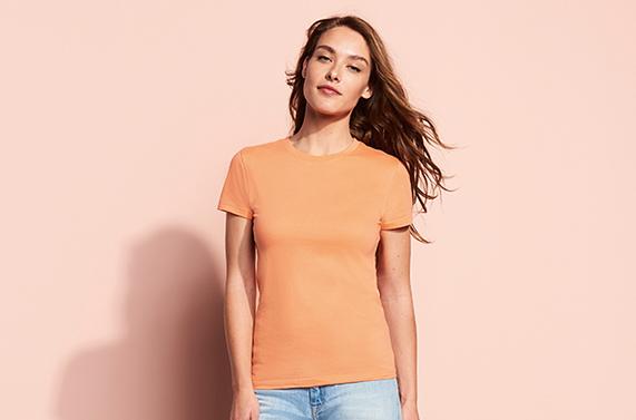 camiseta basica regent mujer