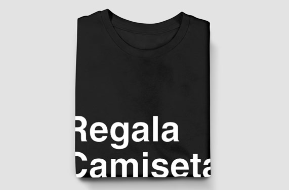 regala camiseta
