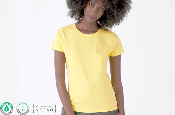 Comprar Camiseta algodón orgánico chica personalziada