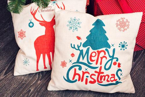 Diseñar cojin para navidades