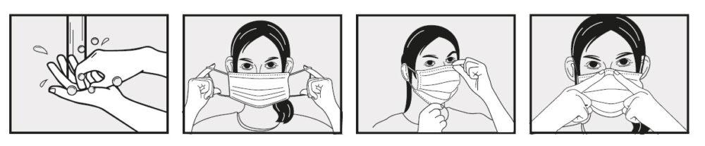 como lavar la mascarilla personalizada