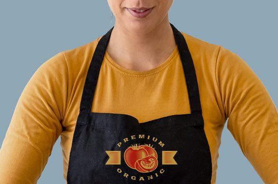 personalizar delantal cocina