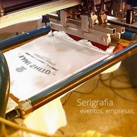 serigrafia automatica camisetas